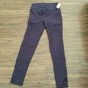 Blue Maternity skinny Pants
